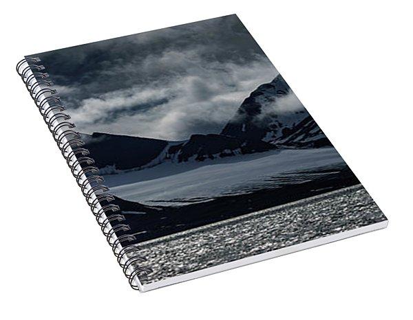 Svalbard Mountains Spiral Notebook