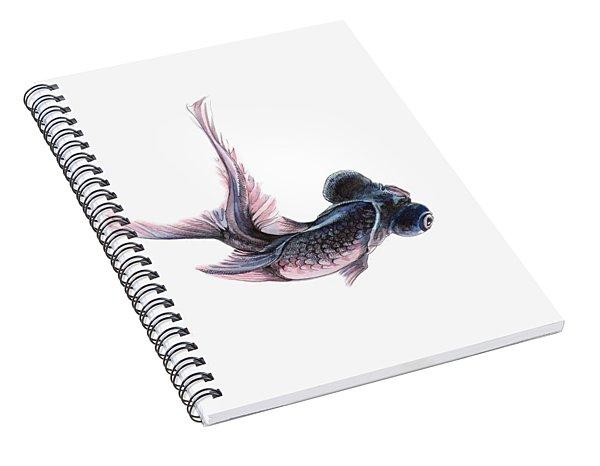 Telescope Fish Spiral Notebook