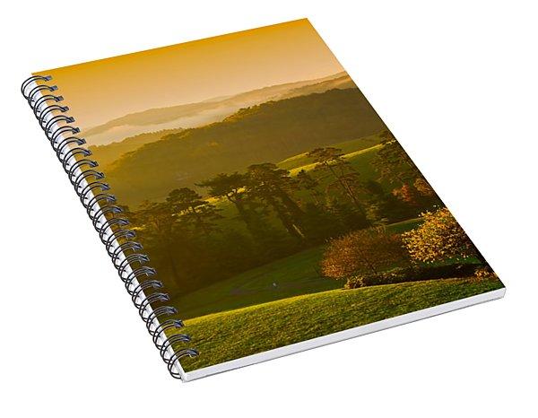 Smokey Mountain Sunrise Spiral Notebook