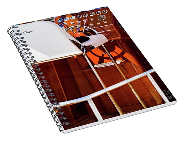 The Captains Chair Spiral Notebook