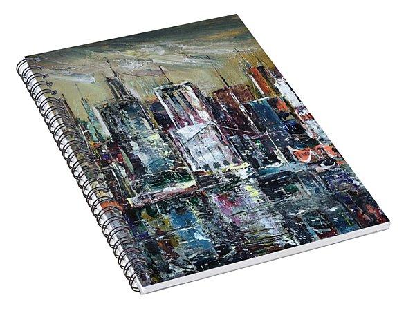 The City Awakens Spiral Notebook