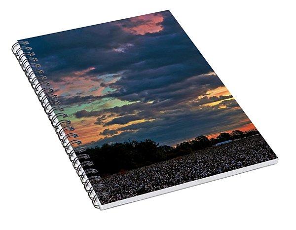 The Cotton Field  Spiral Notebook