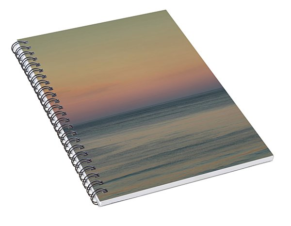 The Day Begins Spiral Notebook