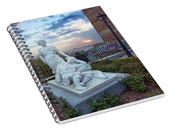 The Dream Of San Isidro Spiral Notebook