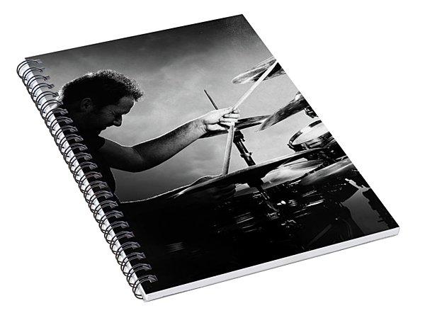 The Drummer Spiral Notebook