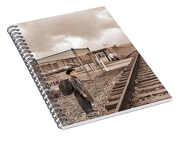 The Vanishing Child Spiral Notebook