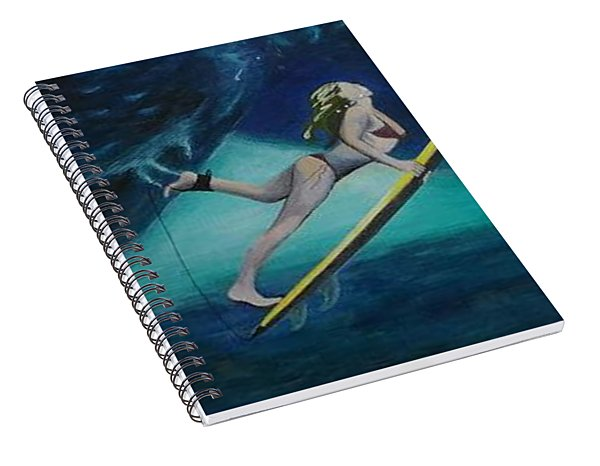 The Wedge - Duck Dive Spiral Notebook