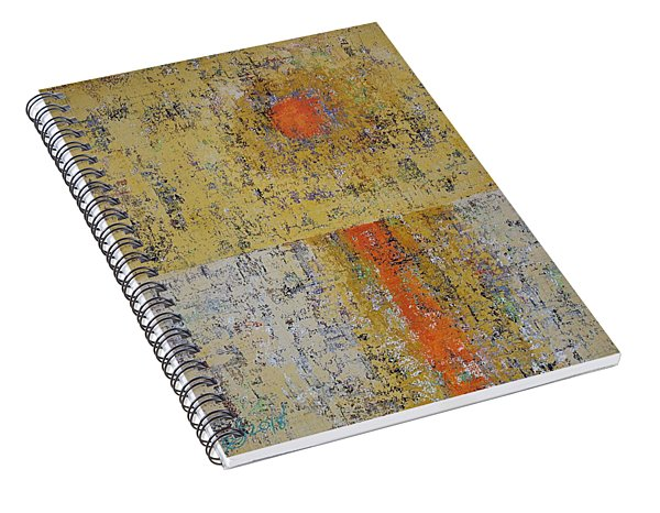 Tidepool Reflection Original Painting Sold Spiral Notebook
