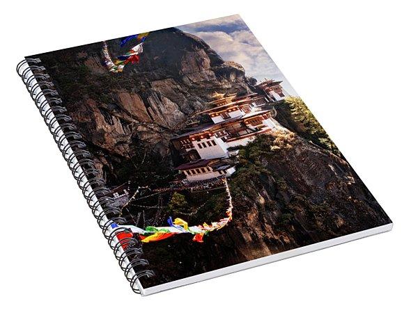 Tigers Nest 2 Spiral Notebook