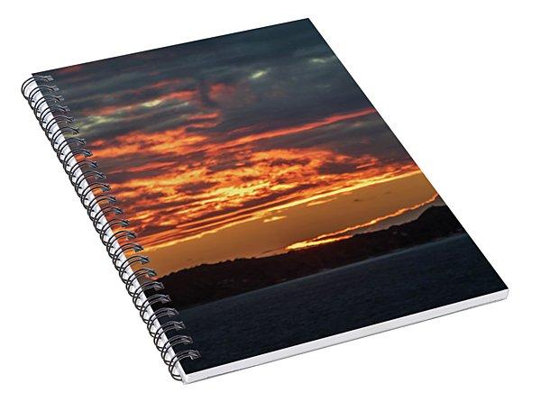 Tortolla Sunrise Spiral Notebook
