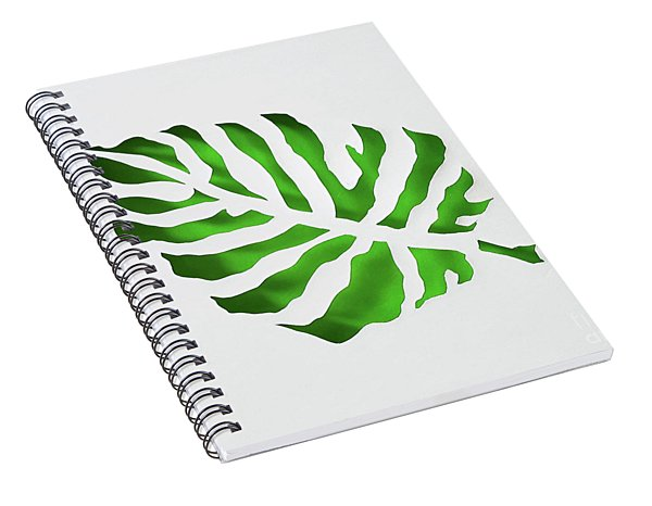 Tropical Spiral Notebook