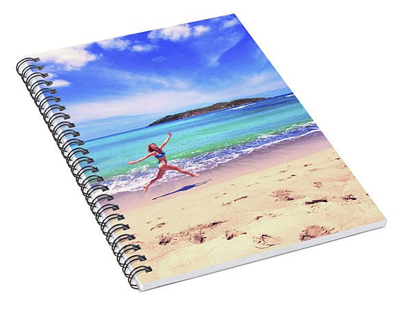 Tropical Spring Spiral Notebook