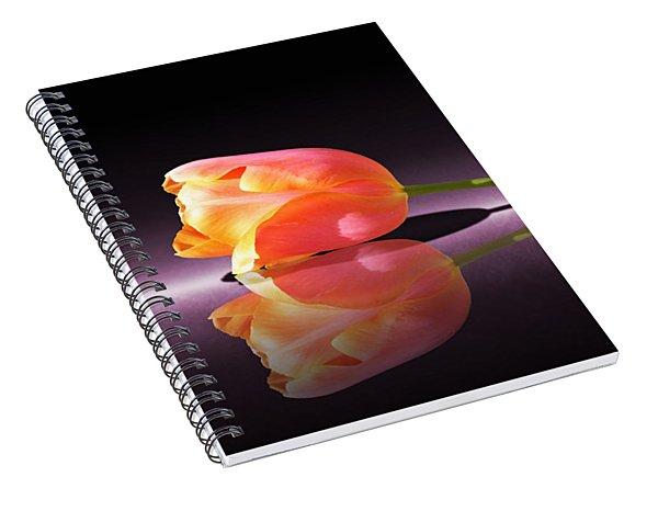 Tulip Reflection Spiral Notebook