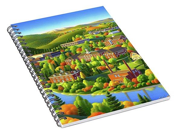 University Of Maine Spiral Notebook
