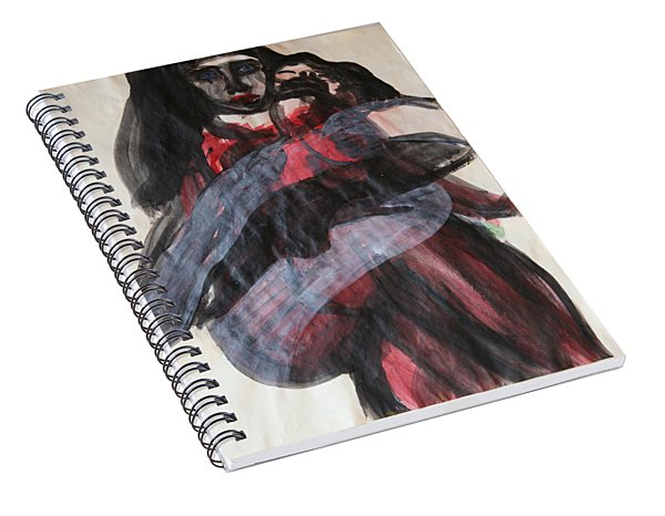 Waiting For The Cross Spiral Notebook