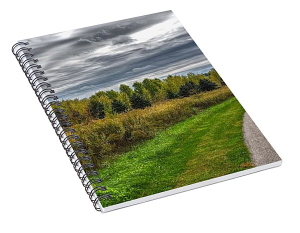 Walnut Woods Pathway - 2 Spiral Notebook