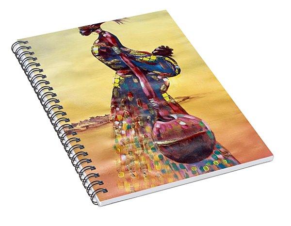 Wandering Spiral Notebook