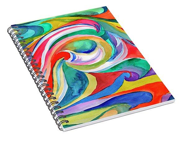 Watercolor's Swirl Spiral Notebook