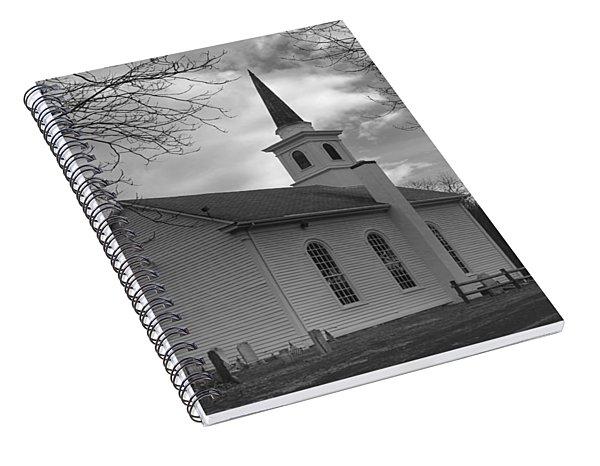 Waterloo United Methodist Church - Back Spiral Notebook