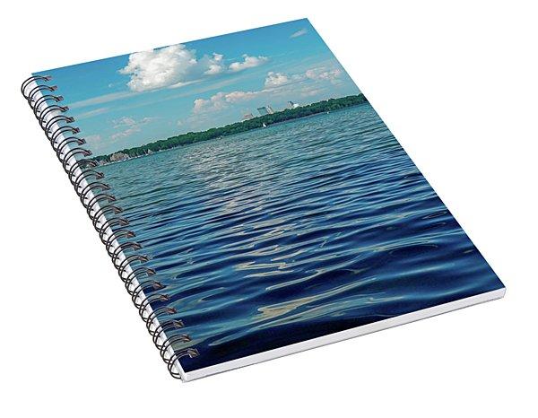 Waves On Lake Harriet Spiral Notebook