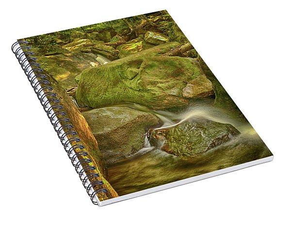 Wet Rocks Spiral Notebook