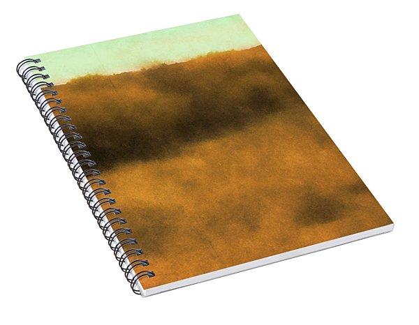 Wild And Golden Spiral Notebook