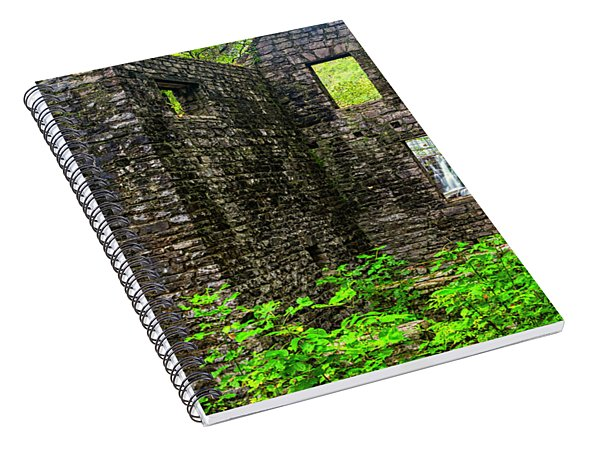 Window To The Waterfall Spiral Notebook