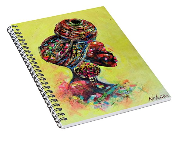 Wrapped Up Spiral Notebook