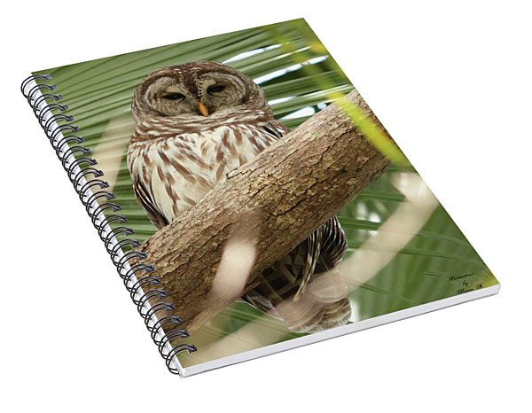 Somebody's Watching Me Spiral Notebook
