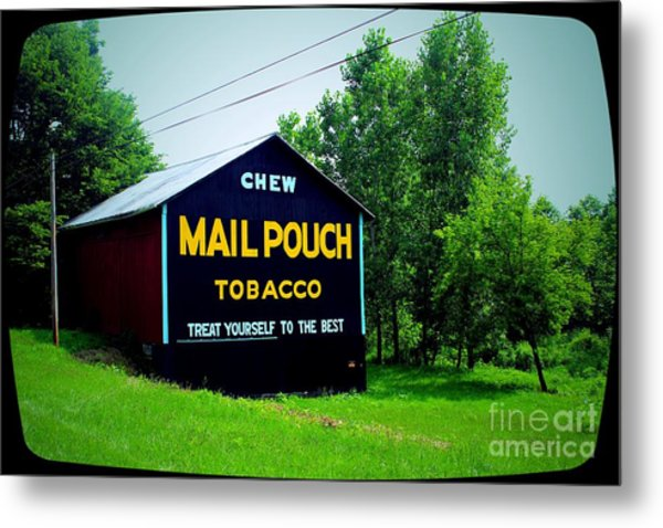Mail Pouch Metal Print