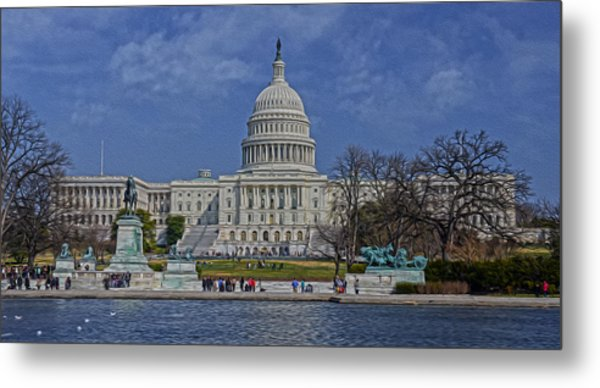 A Capitol Day Metal Print