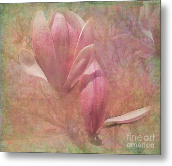 A Peek Of Spring Metal Print