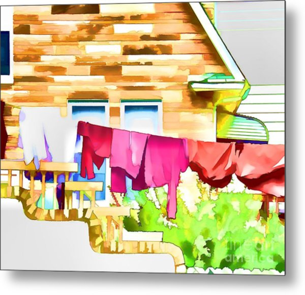A Summer's Day - Digital Art Metal Print