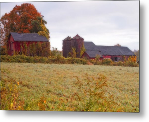 Abandoned Connecticut Farm  Metal Print