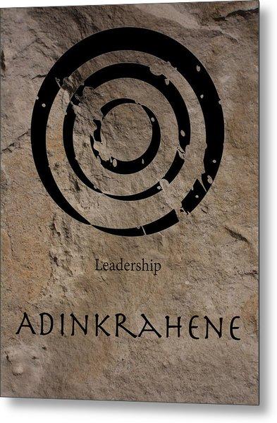 Adinkra Adinkrahene Metal Print