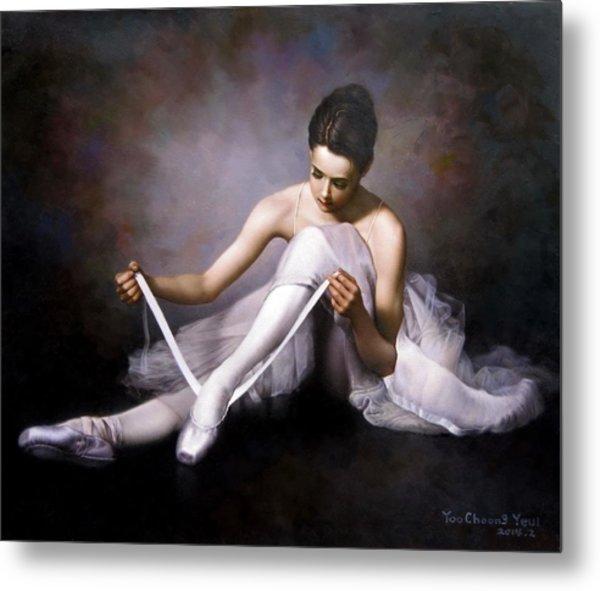 Ballerina 3 Metal Print