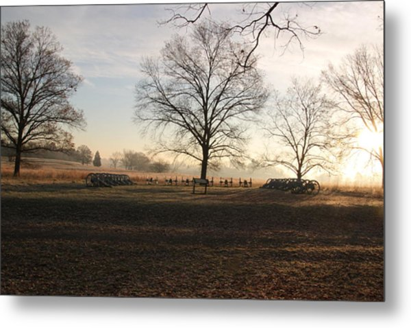 Battery Park Valley Forge National Park Metal Print