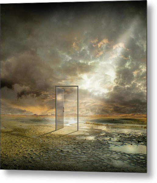 | Behind The Reality | Metal Print by Franziskus Pfleghart