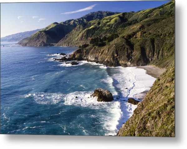 Big Sur At Big Creek Metal Print