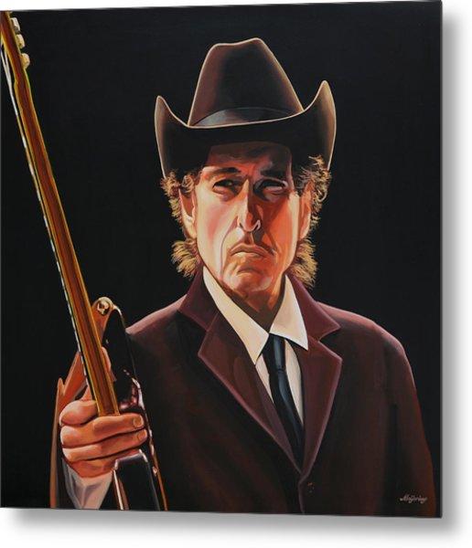 Bob Dylan 2 Metal Print