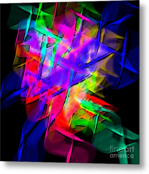 Color Screamers  Metal Print