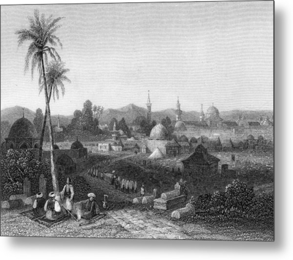 Damascus  General View        Date 1835 Metal Print by Mary Evans Picture Library