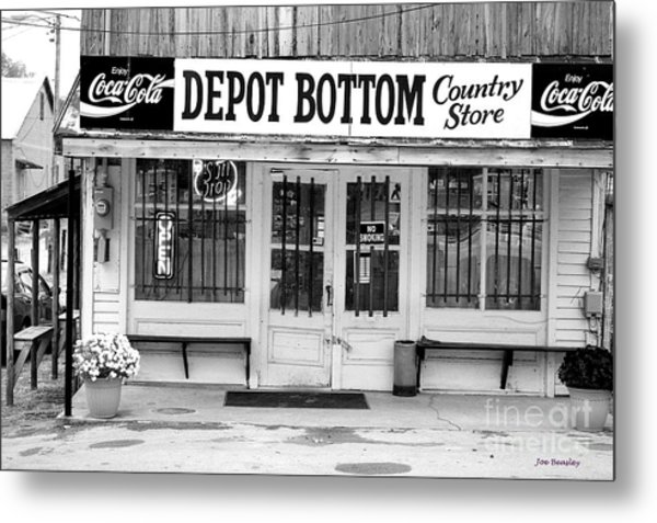 Depot Bottom Country Store Metal Print by   Joe Beasley