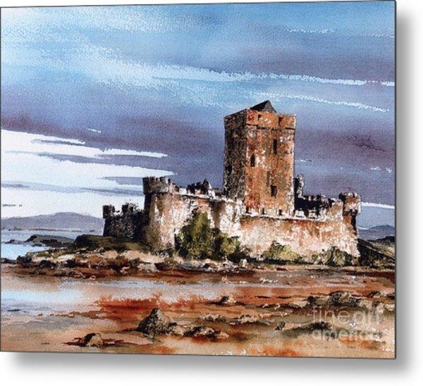 Doe Castle In Donegal Metal Print