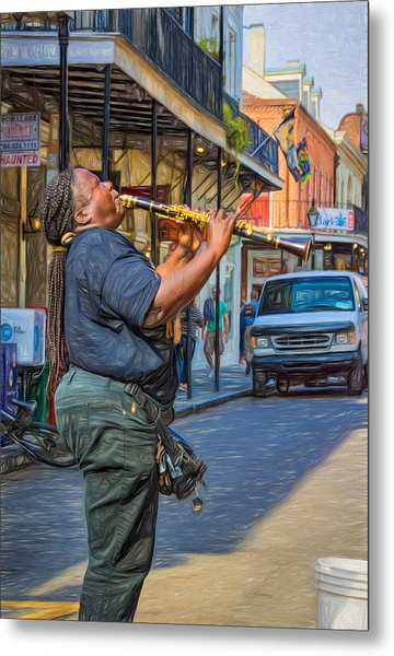 Feel It - Doreen's Jazz New Orleans 2 Metal Print