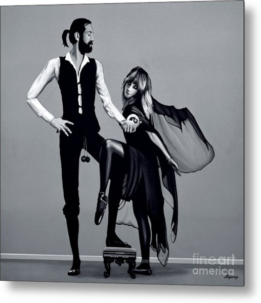 Fleetwood Mac Metal Print