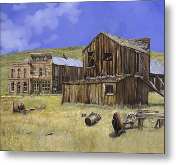 Ghost Town Of Bodie-california Metal Print