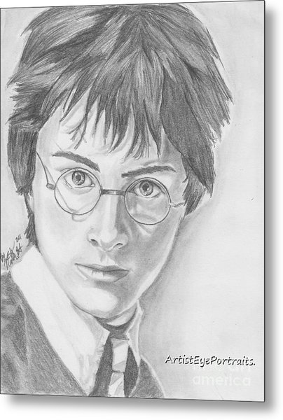 Harry Potter Metal Print by Nathaniel Bostrom