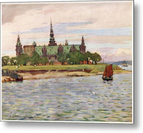 Helsingor  Kronborg Castle        Date Metal Print by Mary Evans Picture Library