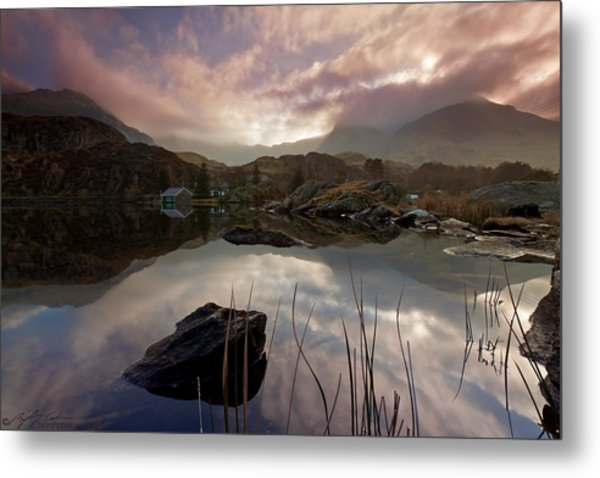 Llyn Ogwen Sunset Metal Print